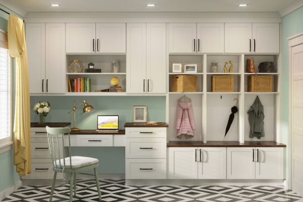 Sonora White Mudroom